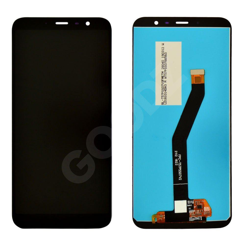 Дисплей для Meizu M6T з тачскріном в зборі, колір чорний, копія високої якості