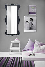 Зеркало черно - белое 1300х600 мм