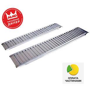 ✅Трап заездной алюминиевый AL-KO Profi 2500x400x90 мм (1224723),
