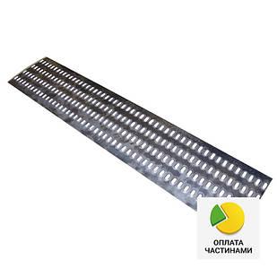 ✅Лист металлический перфорированный 4 отв. 500*1500, перфорация на лафет, перфолист для эвакуатора, для