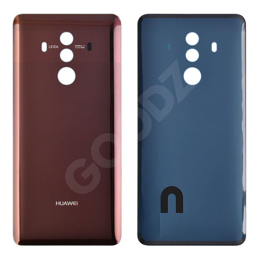 Задня кришка для Huawei Mate 10 Pro, колір коричневий