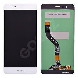 Дисплей Huawei P10 Lite (WAS-L21, WAS-LX1, WAS-LX1A) з тачскріном в зборі, колір білий