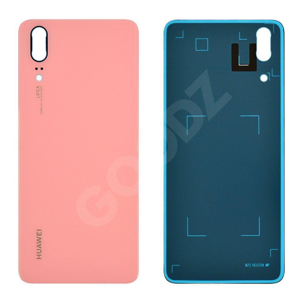 Задняя крышка для Huawei P20 (EML-L29 EML-L09) 2018, цвет розовый