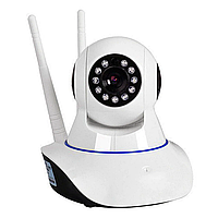 IP камера видеонаблюдения Q5 - на 2 антены| Беспроводная поворотная WIFI IP камера| камера видеонаблюдения