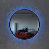 Зеркало круглое, с подсветкой Led 800 мм, фото 2