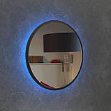 Зеркало круглое, с подсветкой Led 800 мм, фото 3