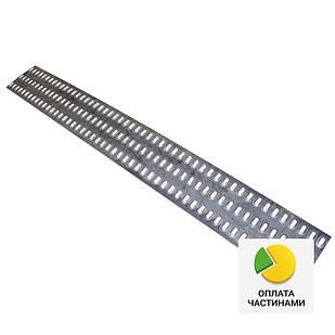 ✅Лист металлический перфорированный 3 отв. 313*2500, перфорация на лафет, перфолист для эвакуатора, для