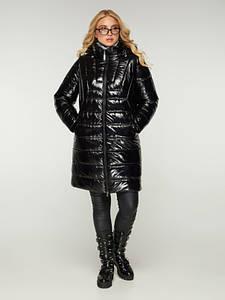 Куртка удлиненная CR-702316-BLK