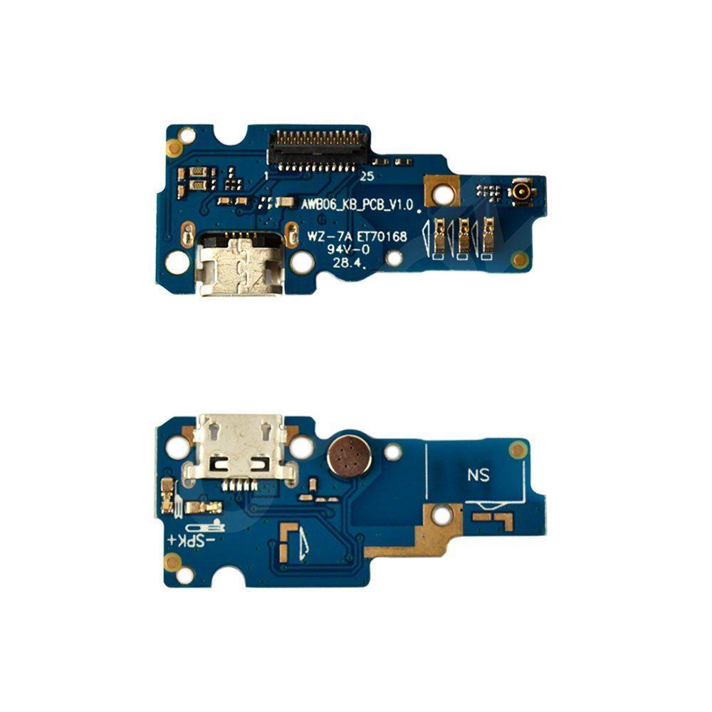 Разъем зарядки для Asus ZenFone Go ZB452KG с нижней платой
