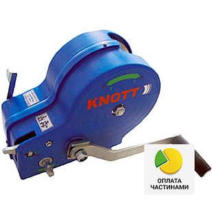 ✅Лебедка ручная KNOTT (Autoflex) 900 кг (без троса),