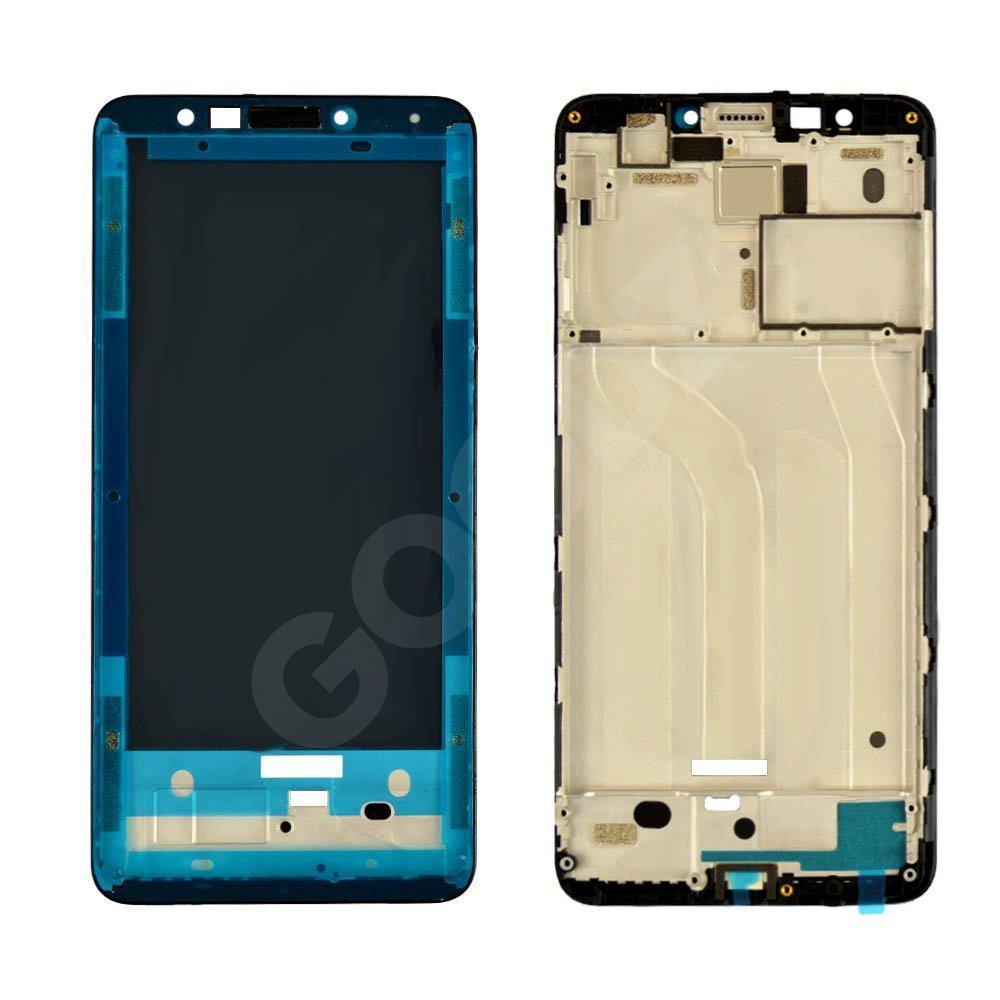 Рамка (средняя часть) для дисплея Xiaomi Redmi 5, цвет черный