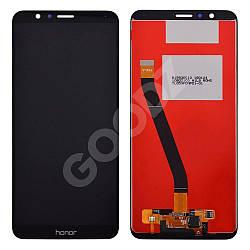 Дисплей для Huawei Honor 7X (BND-L21) з тачскріном в зборі, колір чорний