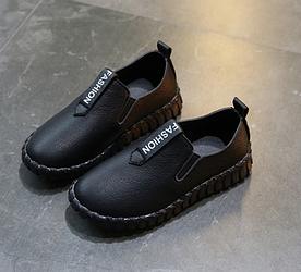 Туфлі дитячі PU-шкіра Fashion чорні 26