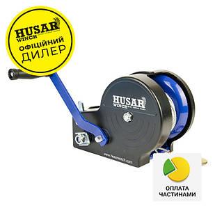✅Лебедка ручная Husar BST 2500 lbs 1133 кг с защитным пластиковым кожухом,
