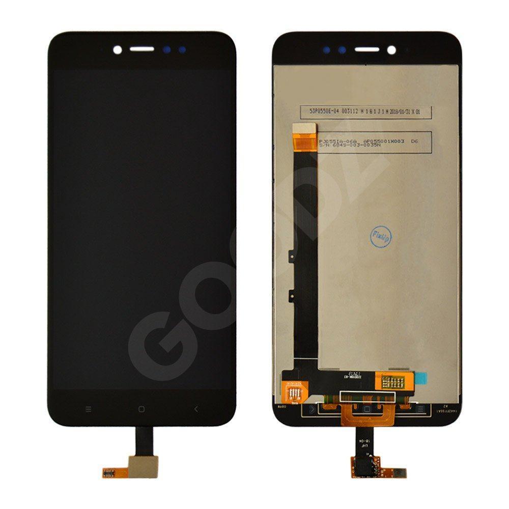 Дисплей для Xiaomi Redmi Note 5A Prime, Redmi Y1 з тачскріном в зборі, колір чорний, копія ввисокого