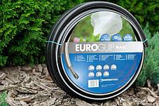 Шланг садовий Tecnotubi Euro Guip Black для поливу діаметр 3/4 дюйма, довжина 25 м (EGB 3/4 25), фото 2