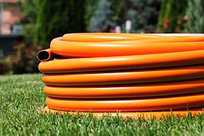 Шланг садовый Tecnotubi Orange Professional для полива диаметр 3/4 дюйма, длина 25 м (OR 3/4 25), фото 2