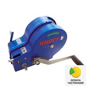 ✅Лебедка ручная KNOTT (Autoflex) 1150 кг (с плоским фалом 50 мм),