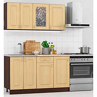 Кухонний гарнітур з 4 моделей, фасад з МДФ (1,4 метра), bobi, фото 1