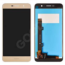 Дисплей Huawei Y6 Pro, Enjoy 5 (TIT-AL00, TIT-U02) з тачскріном в зборі, колір золотий