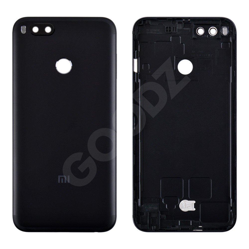 Задняя крышка для Xiaomi Mi A1/Mi5X, цвет черный, оригинал