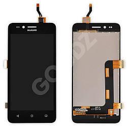 Дисплей Huawei Y3 II (LUA-U03, U22, U23, L03, L13, L23) 3G з тачскріном в зборі, колір чорний