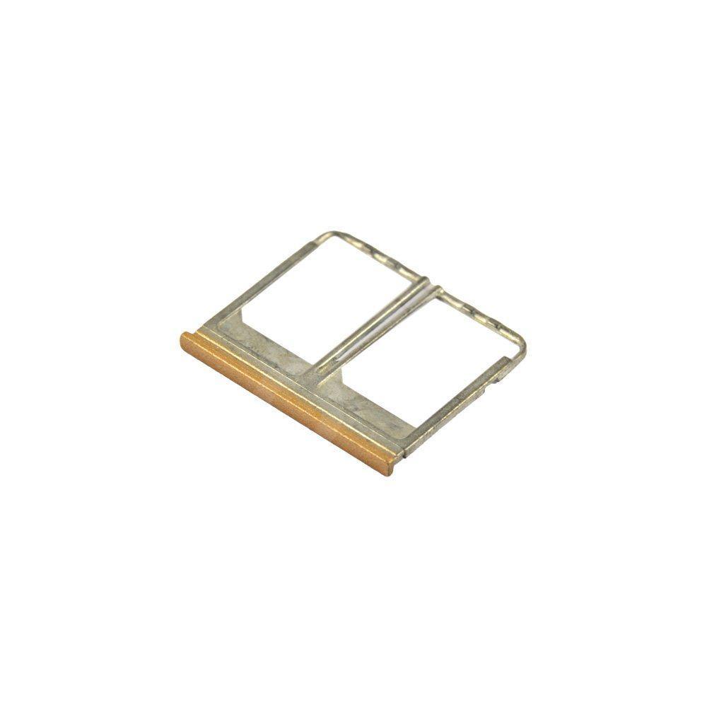 Держатель сим карты для HTC One M8 Dual Sim NANO, цвет золотой