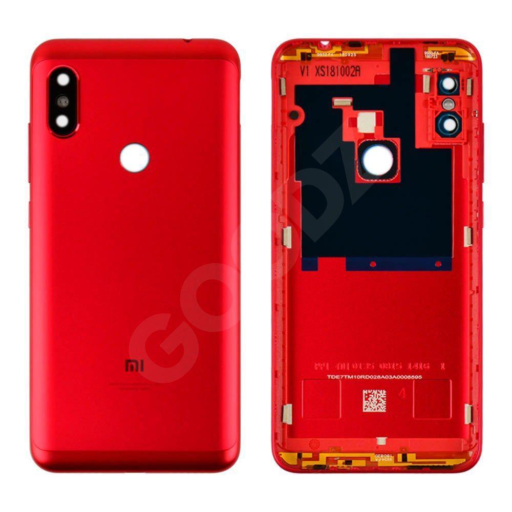 Задня кришка для Xiaomi Redmi Note 6 Pro, колір червоний