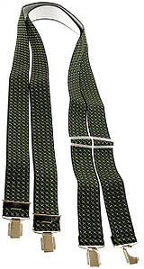 Чоловічі підтяжки для штанів KWM, Німеччина 110 на 3,6 см 550007