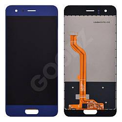 Дисплей Huawei Honor 9 (STF-L09, STF-L19) з тачскріном в зборі, колір синій