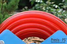 Шланг поливальний Presto-PS силікон садовий Caramel (червоний) діаметр 3/4 дюйма, довжина 20 м (SE-3/4 20), фото 3