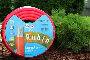 Шланг поливочный Presto-PS садовый Rubin диаметр 3/4 дюйма, длина 50 м (3/4 GHR 50), фото 2