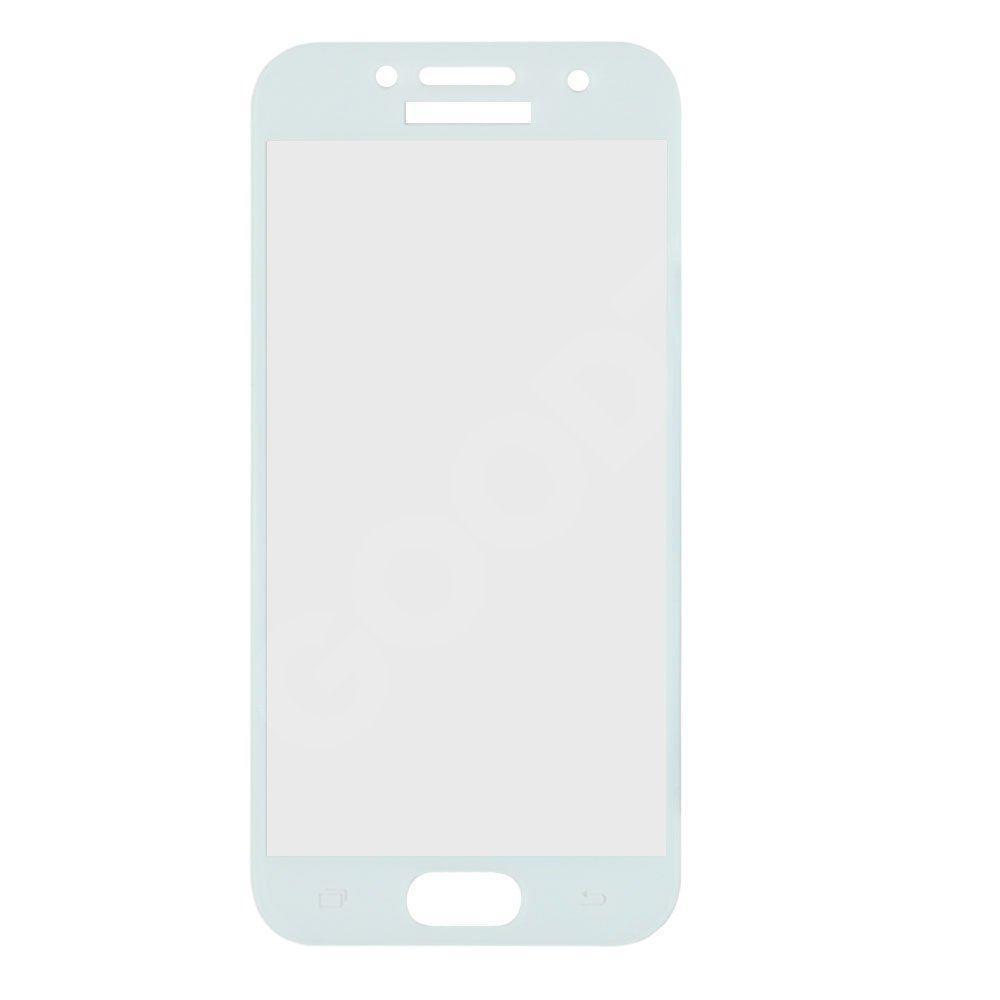 Захисне скло для Samsung A320 Galaxy A3 (2017) 3D, колір білий