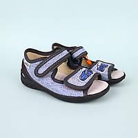 Текстильна взуття для хлопчика Адам синій тм Waldi розмір 23,24,29