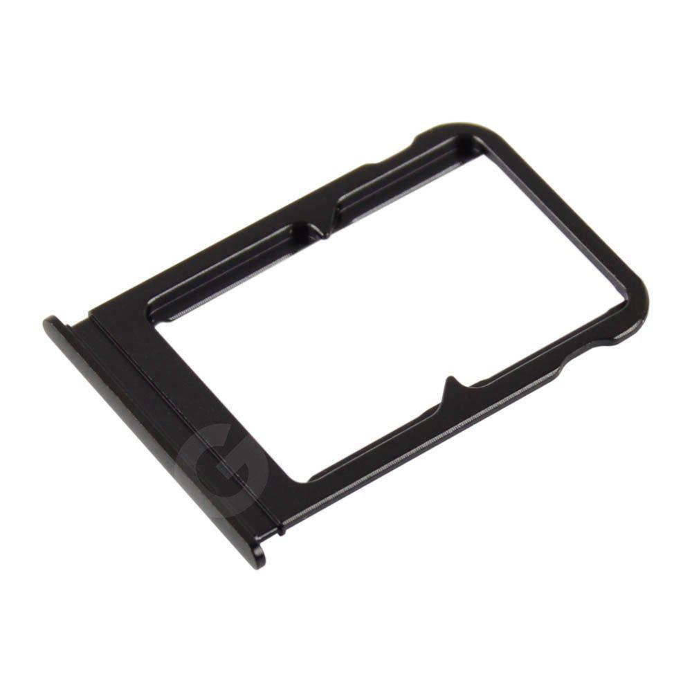 Держатель сим карты для Xiaomi Mi8, цвет черный
