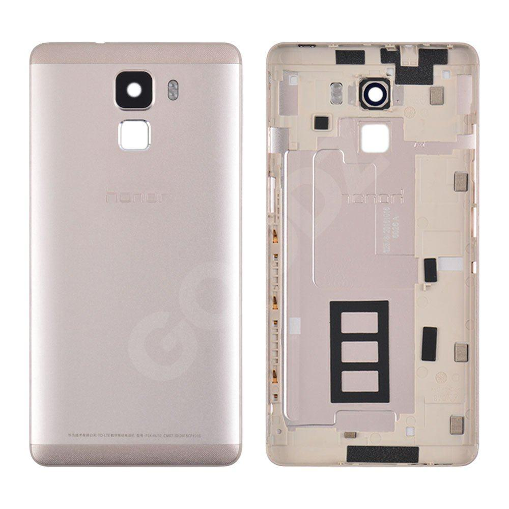 Задня кришка для Huawei Honor 7 (PLK-L01), колір золотий, оригінал