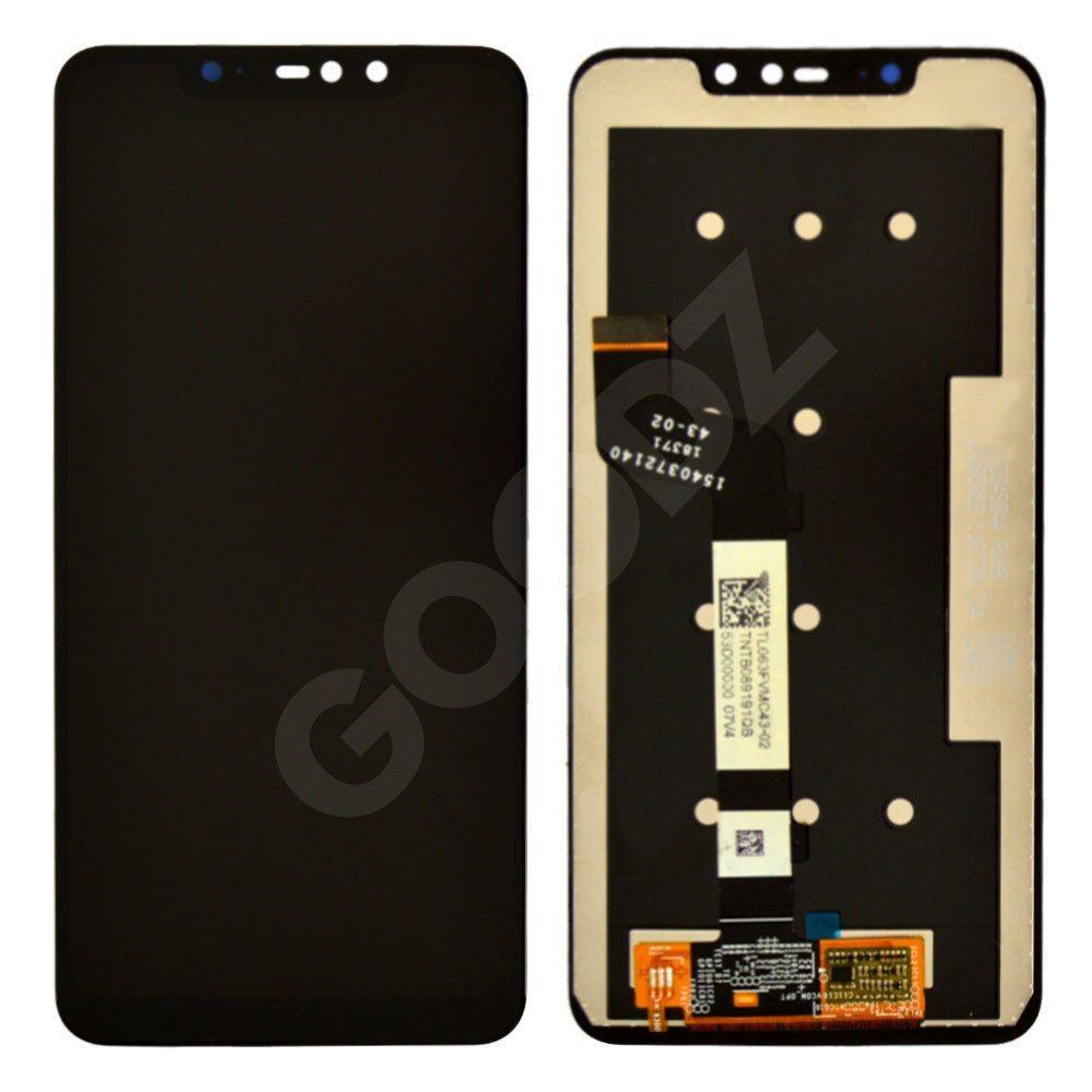 Дисплей для Xiaomi Redmi Note 6 Pro с тачскрином в сборе, цвет черный, копия высокого качества