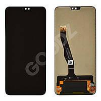 Дисплей для Huawei Honor 8X с тачскрином в сборе, цвет черный