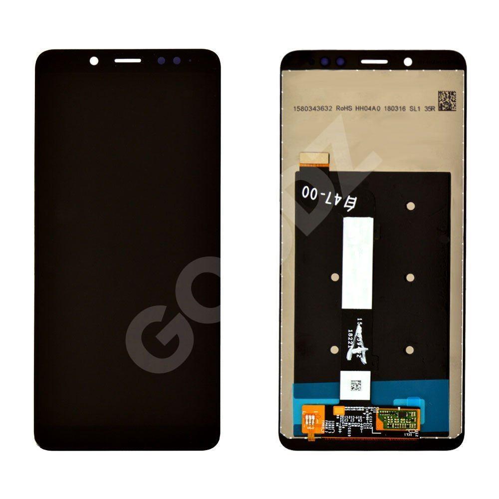 Дисплей для Xiaomi Redmi Note 5, Note 5 Pro з тачскріном в зборі, колір чорний, оригінал