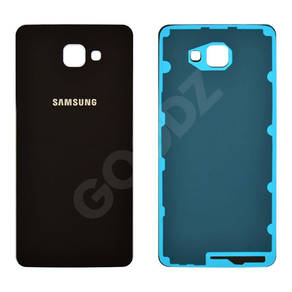 Задня кришка для Samsung A9100 Galaxy A9 Pro (2016), колір чорний