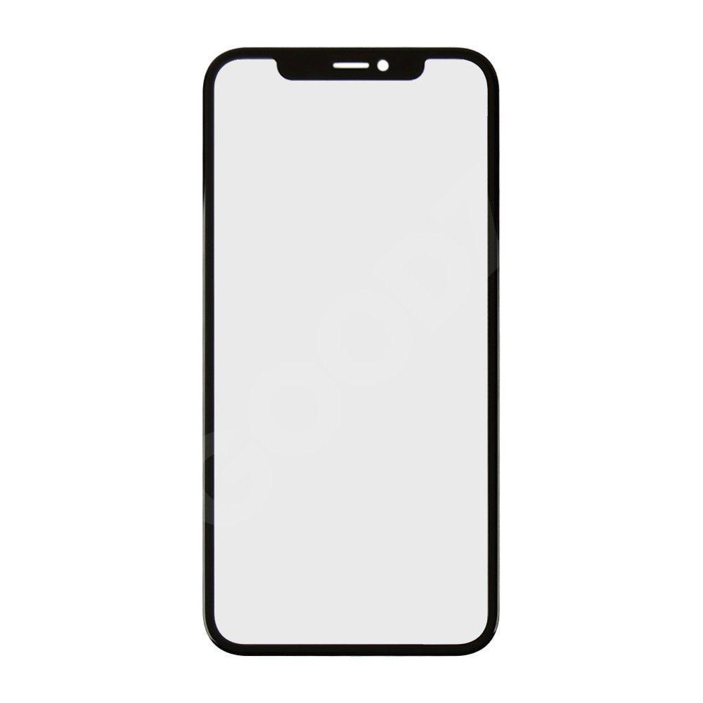 Стекло корпуса для iPhone XR (6.1) с OCA пленкой, цвет черный