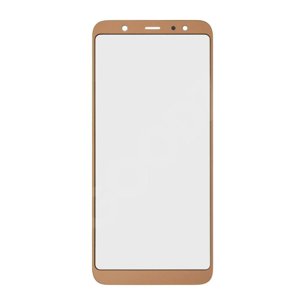 Скло корпусу для Samsung A605 Galaxy A6 Plus (2018), колір золотий