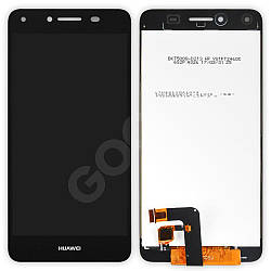 Дисплей Huawei Y5 II, Honor 5, Honor Play 5 (CUN-U29, CUN-L21) з тачскріном в зборі, колір чорний