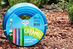 Шланг поливочный Presto-PS силикон садовый Caramel ++ (синий) диаметр 1/2 дюйма, длина 50 м (CAR B-1/2 503), фото 2