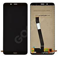 Дисплей для Xiaomi Redmi 7A с тачскрином в сборе, цвет черный