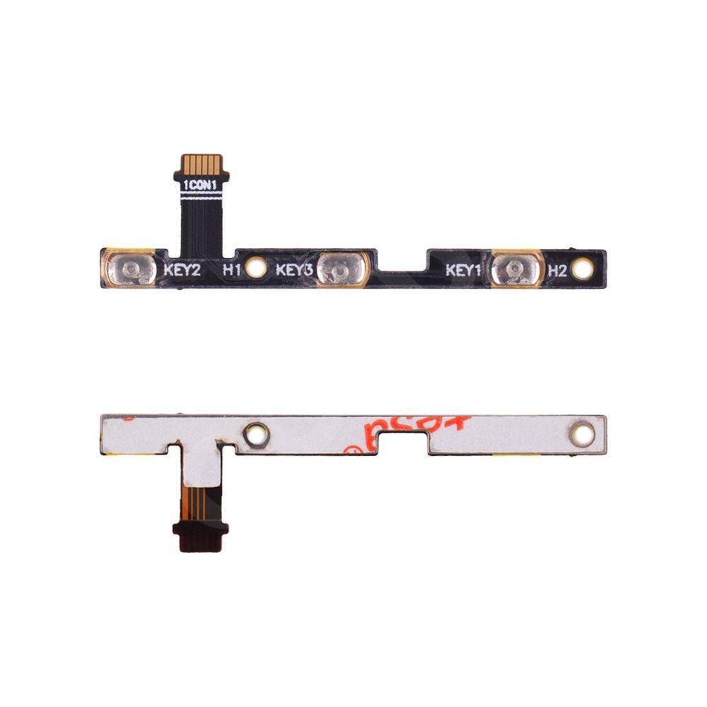 Шлейф для Asus ZenFone 3 Laser (ZC551KL) з кнопками включення і гучності