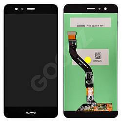 Дисплей Huawei P10 Lite (WAS-L21, WAS-LX1, WAS-LX1A) з тачскріном в зборі, колір чорний