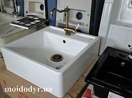 Blanco PANOR 60 кухонні накладна керамічна мийка (білий)