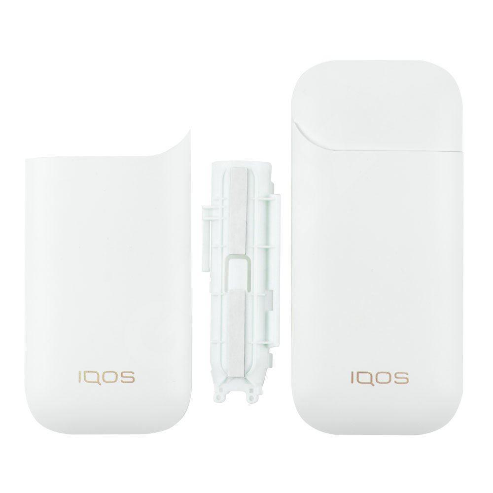 Корпус зарядного блоку для iqos 2.4, 2.4 Plus, колір білий