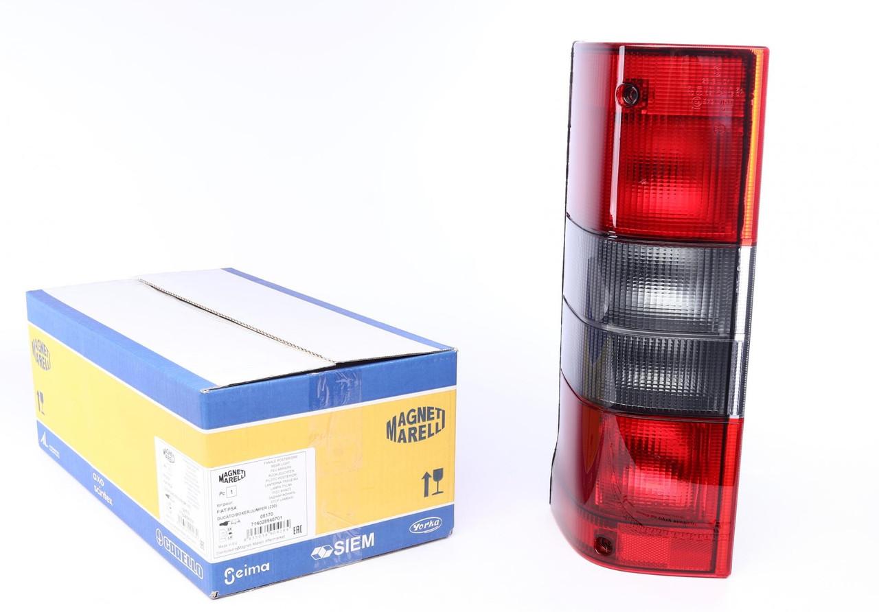 Ліхтар задній Fiat Ducato, Citroen Jumper 94-02 (лівий) (714028940701) MAGNETI MARELLI